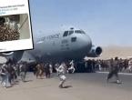 Pojavila se snimka iz aviona s kojeg su Afganistanci padali u smrt, ukrcalo se čak 640 ljudi
