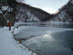 Niske temperature zamrznule rijeke i jezera diljem BiH