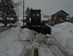 BiH: Nove snježne padaline otežale prometovanje