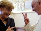 Oprostili se Merkel i papa Franjo