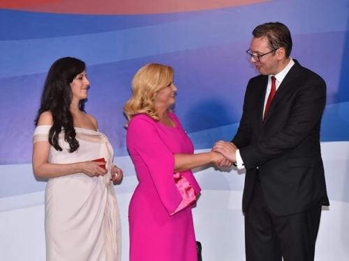 Vučić: Drago mi je ako su mi Kolinda i drugi ukrali show