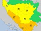 Upaljeni meteoalarmi za područje Hercegovine