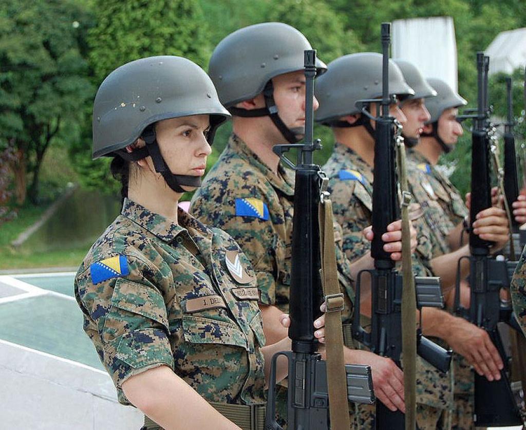 Web stranica za oružane snage